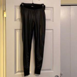 Victoria's Secret Faux leather leggings